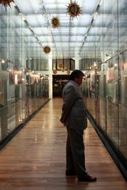Exposição na Biblioteca Nacional do Chile - Santiago